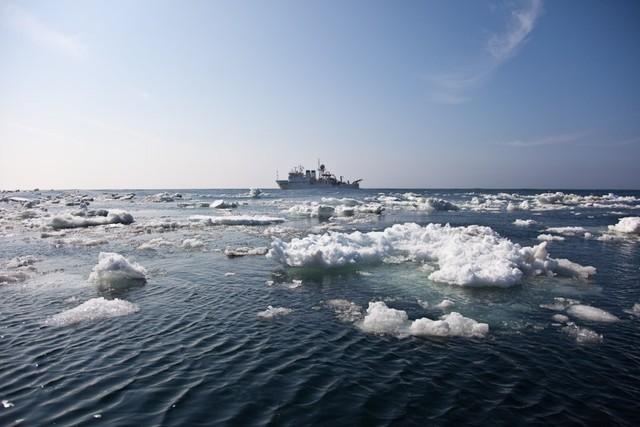 Охотское море.     (И.Ю. Москвитин)