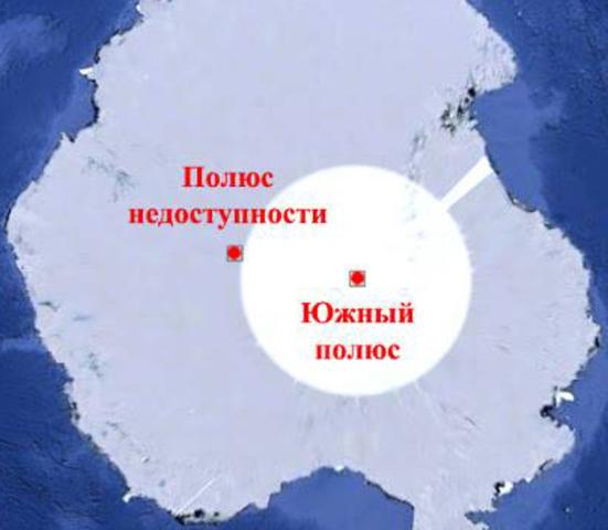 Южный полюс. ( Р. Амудсен)