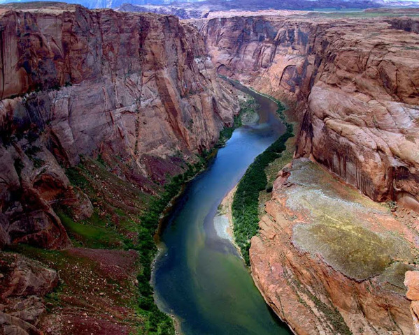 Каньон Колорадо.     (Дж. Пауэлл)