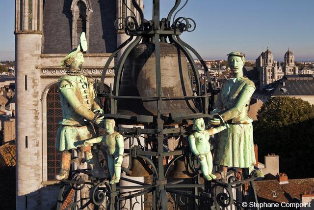 Automate Jaquemart de l'église Notre Dame de Dijon