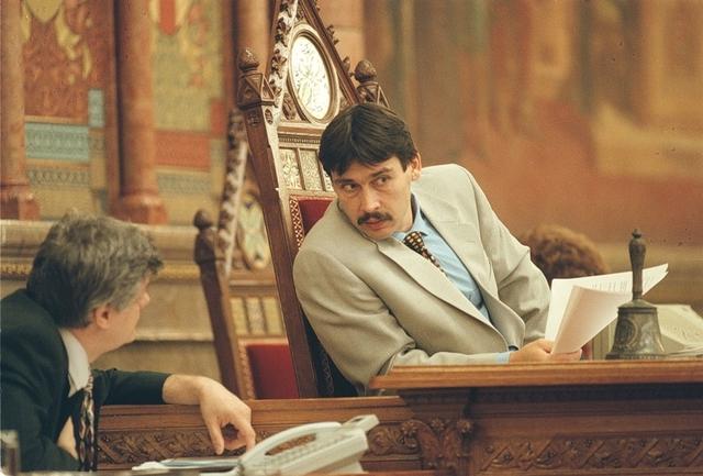 Áder János, az új Országgyűlés elnöke