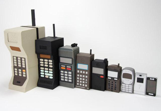 La historia del celular