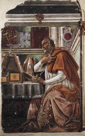 St. Augustine (354 - 430)