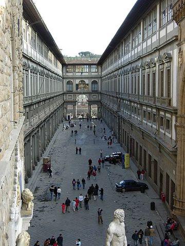 Uffizien von Giorgio Vasari