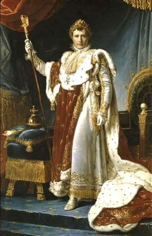 Napoleón se autoproclama emperador en 1804