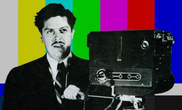 Camarena inaugura la tv a color en México