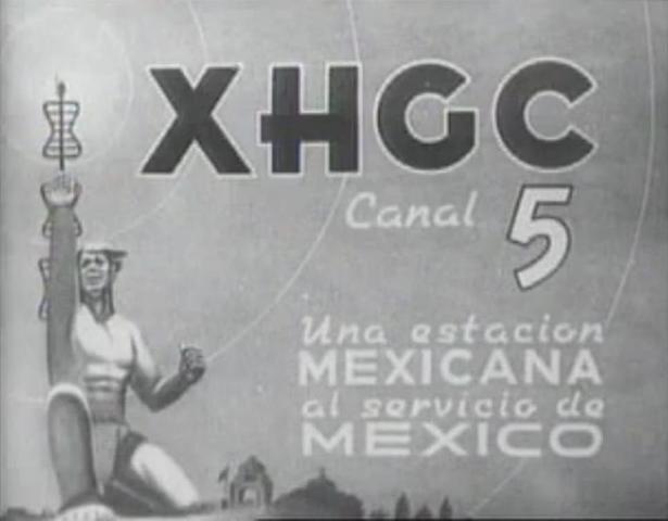 Primera transmisión del canal 5 (XHGC)