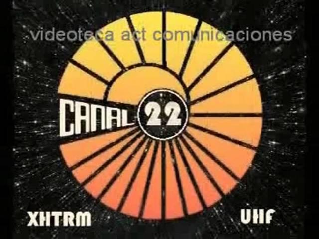 Fundación del canal 22 como Televisión Metropolitana de la ciudad de México
