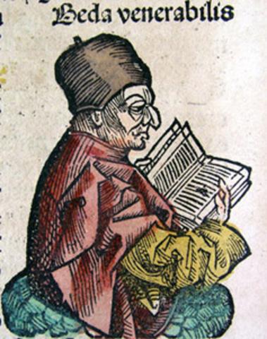 Беда Достопочтенный (Bede Venerabilis)