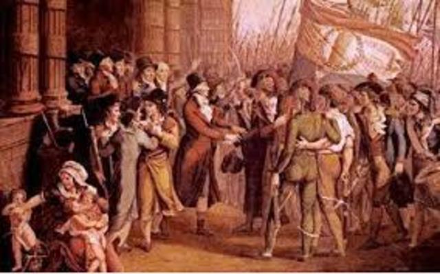 La Convención Girondina (Francia).