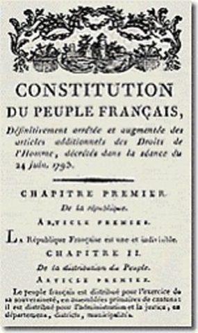 Constitución Francesa de 1793.