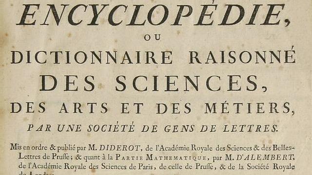 Creación de la primera enciclopedia
