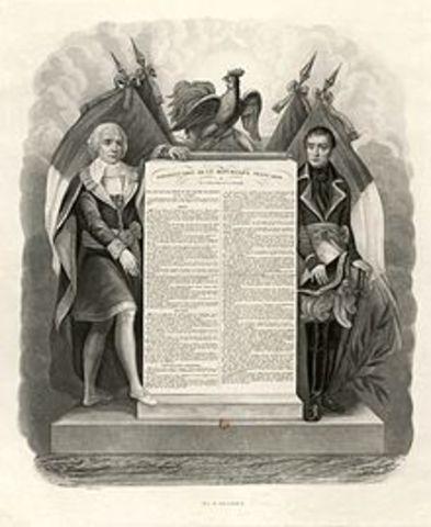 Constitución Francesa de 1795.
