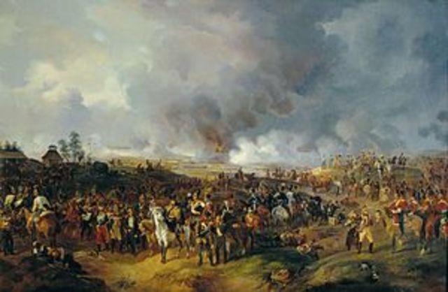Batalla de Leipzing.