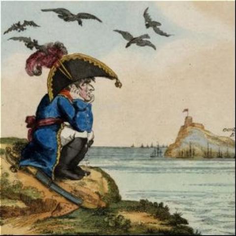 Exilio de Napoleón.