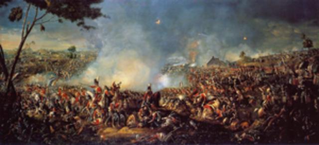 Imperio de los 100 días - Batalla de Wasterloo.