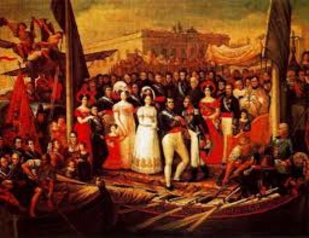 Oleada Revolucionaria 1820-1830.