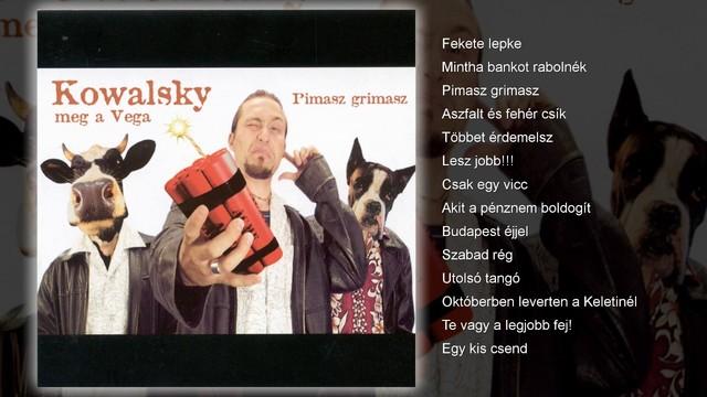 Első album - Primasz gimasz