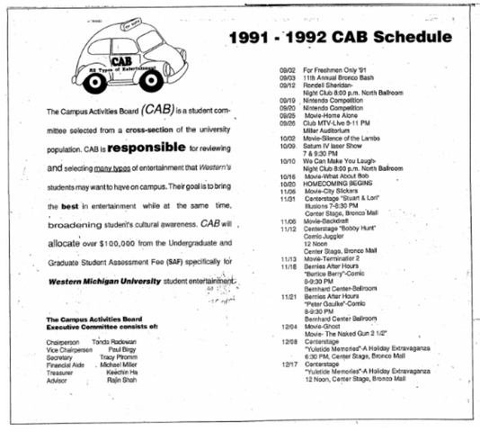 CAB was Founded