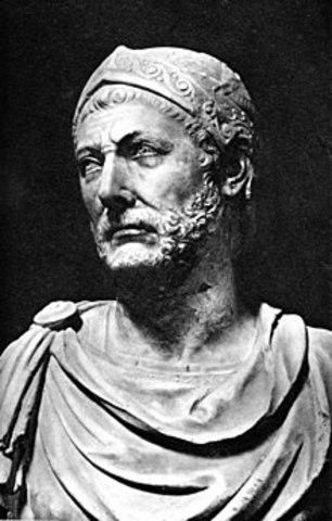 Ch. 10.3 Roman Republic, Hannibal Rein