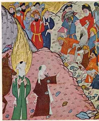 Mort de Mahoma.