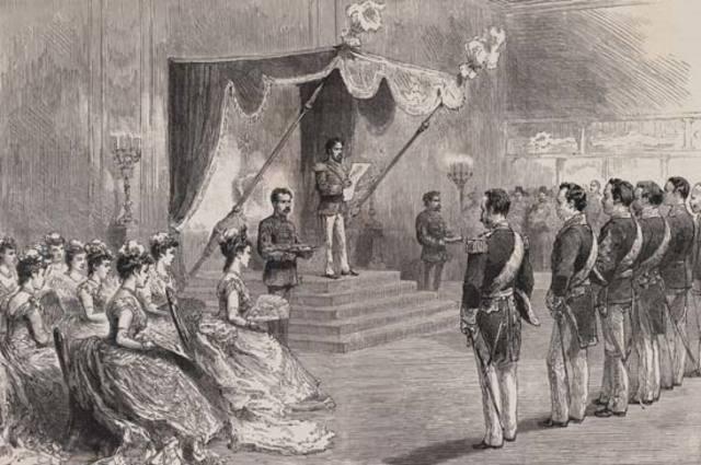 Meiji Constitution Declared