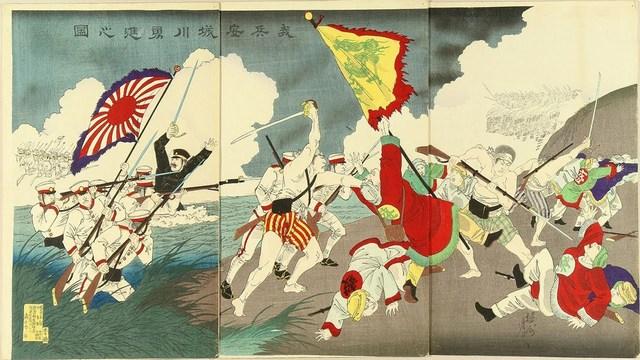 First-Sino Japanese War 1894-1895