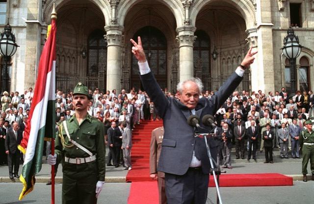 Göncz Árpádot választja az Országgyűlés köztársasági elnöknek