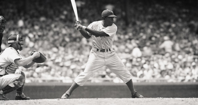 Jackie hit a cycle against the St.Louis cardinals for the first time in his courier