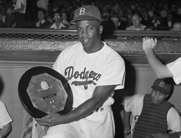 Jackie Robinson is a M.V.P.
