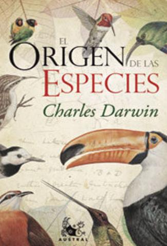 Publicación del Origen de las especies.