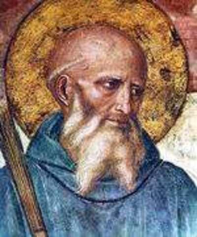 Surgimiento del monasticismo benedictino.