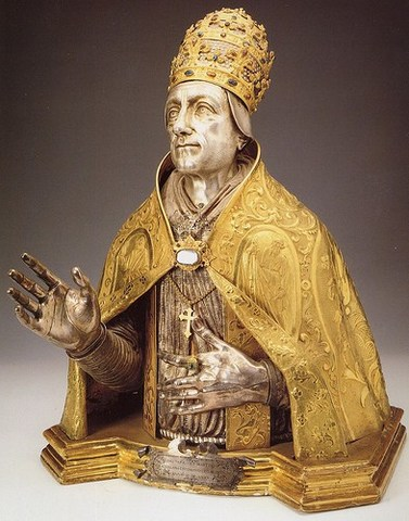 Obispo de Roma, mayor autoridad.