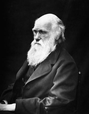 (1844-1924) Charles Darwin