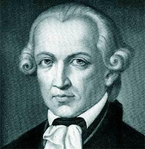 (1724- 1804) Immanuel Kant