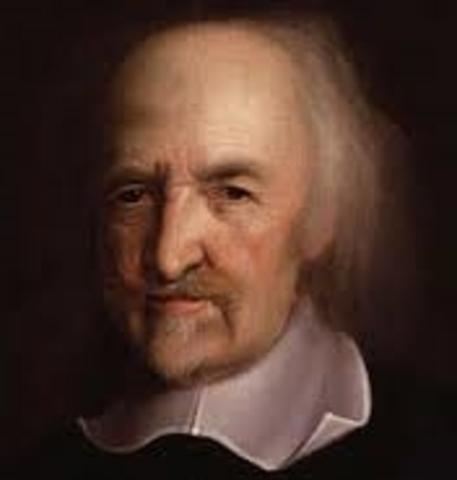 (1588- 1679) Thomas Hobbes