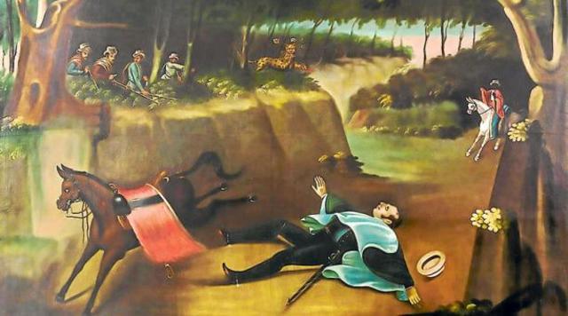 La Caída del Sueño de Bolivar