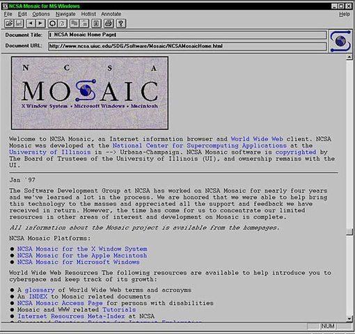 Mosaic Browser