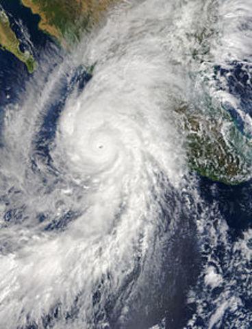 """El huracán """"Patricia"""""""