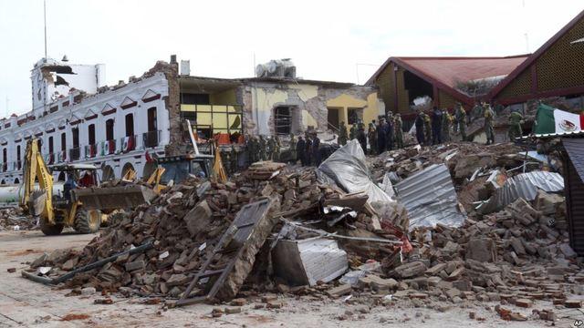 Terremotos en México 2017