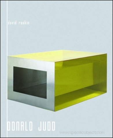 Donald Judd 'Specific Objects' series