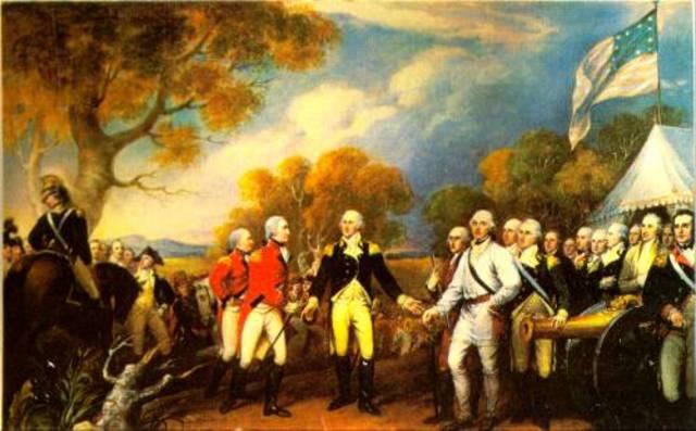 Saratoga and Yorktown battles
