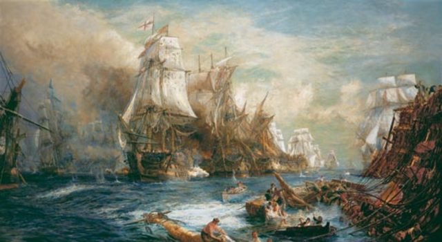 battles of Trafalgar,Austerlitz and Jena