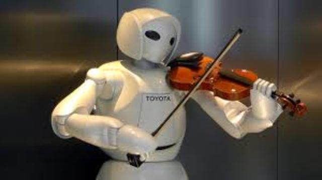 Robot violoniste de Toyota
