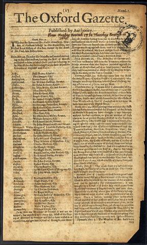 Oxford Gazette