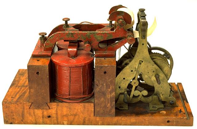 Morse Telegraph Receiver