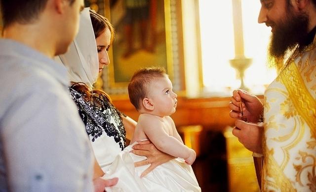 Крещение дочери