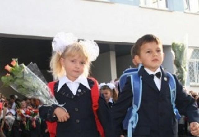 Дочь Марии и Александра пошла в 1 класс