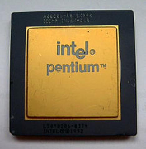 32-битный процессор: Pentium I