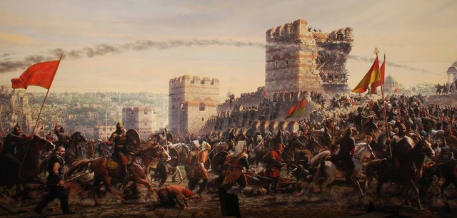 1453 AD Fall of Constantinople